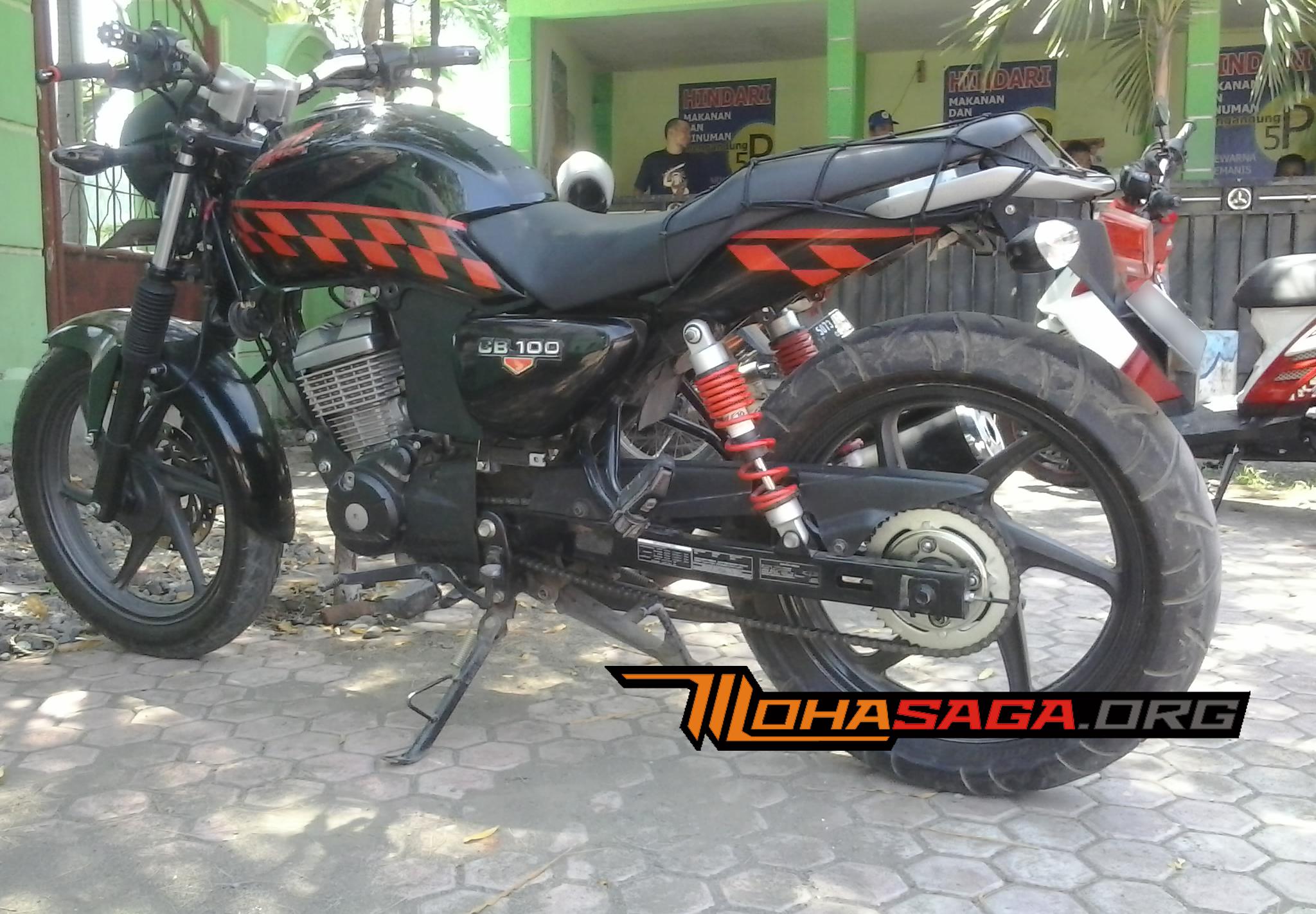 102 Modifikasi Motor Verza Jadi Cb Modifikasi Motor Honda CB Terbaru